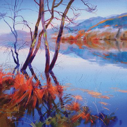 Loch Drunkie Reflections - Jim Wylie