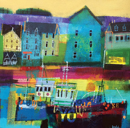 Sunday Afternoon Stonehaven - Francis Boag