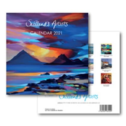 Scotlands Artists Calendar 2021