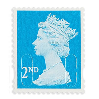Royal Mail Second Class Stamp